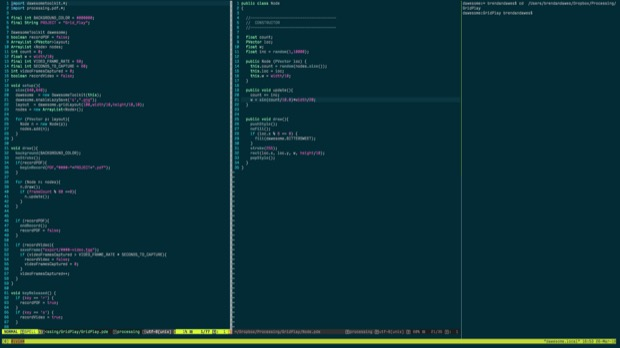 My tmux and vim setup